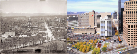 Downtown denver 'C' 1870-2000