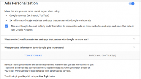 Google now allows blocking ads from previously visited websites