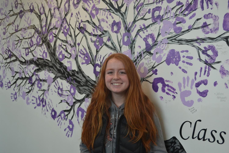 Student body president candidate Maya Fairchild.