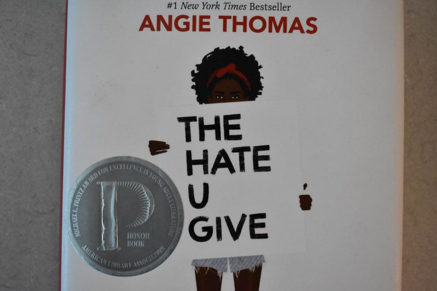 The+book+cover+of+%22The+Hate+U+Give.%22+