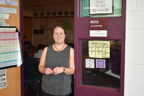 A-West math teacher Alison Bonger reflects on time with students