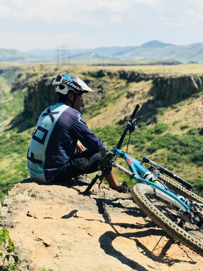 Bike club co-founder Alan Barrios. Photo courtesy of Alex River.