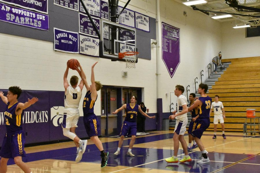 Photo gallery: varsity boys basketball game vs. Boulder
