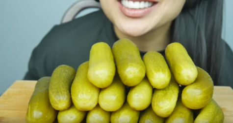Review: Pickle crunch ASMR video