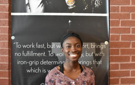 Student Council Elections: Abby Asare, senior class president