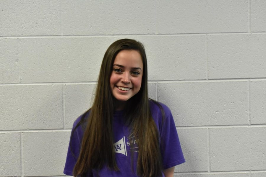 Junior class president candidate Molly Johnston.