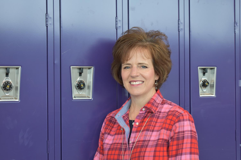 A-West English teacher Karen Kramer.