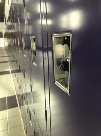 Lockers not necessary in high school