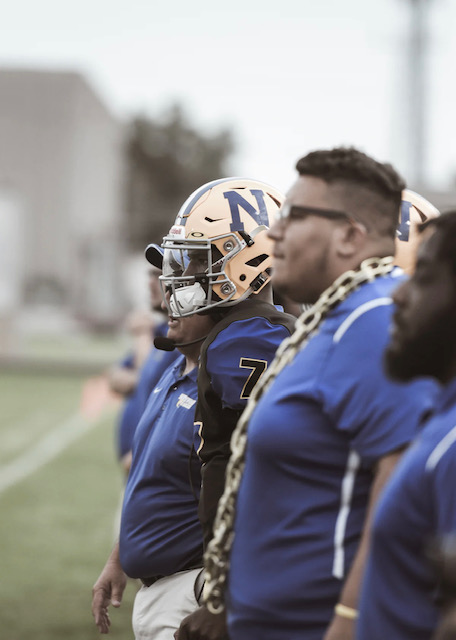 High School Football during Covid-19 by Travis Essinger from Unsplash.
