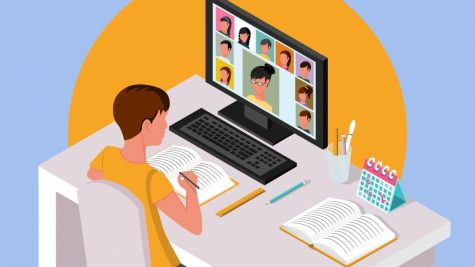 Online school and mental health
