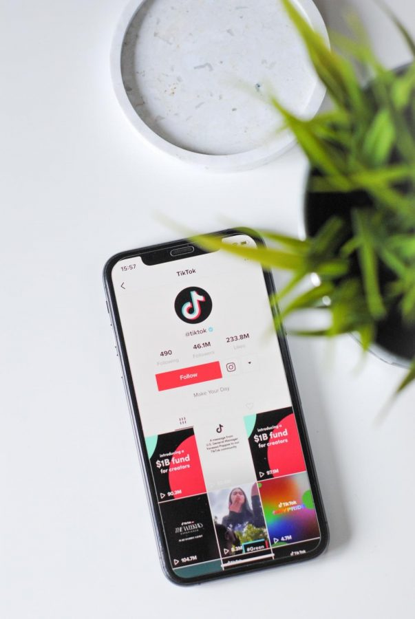 In a survey of 151 Arvada students and parents, 67% say they use TikTok daily. Image from Nik on Unsplash.com.