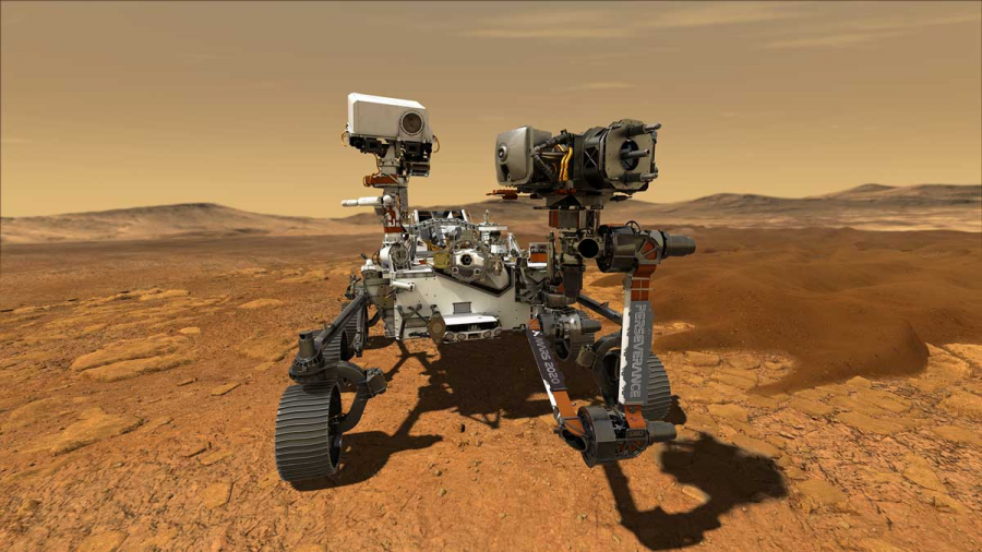 Mars rover, Perseverance, touches down on Mars
